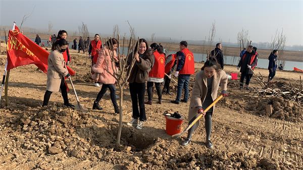 市交旅集团妇委会组织开展义务植树活动