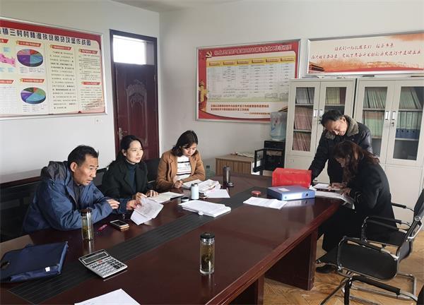 市交旅集团对三村村合作社进行财务专业指导
